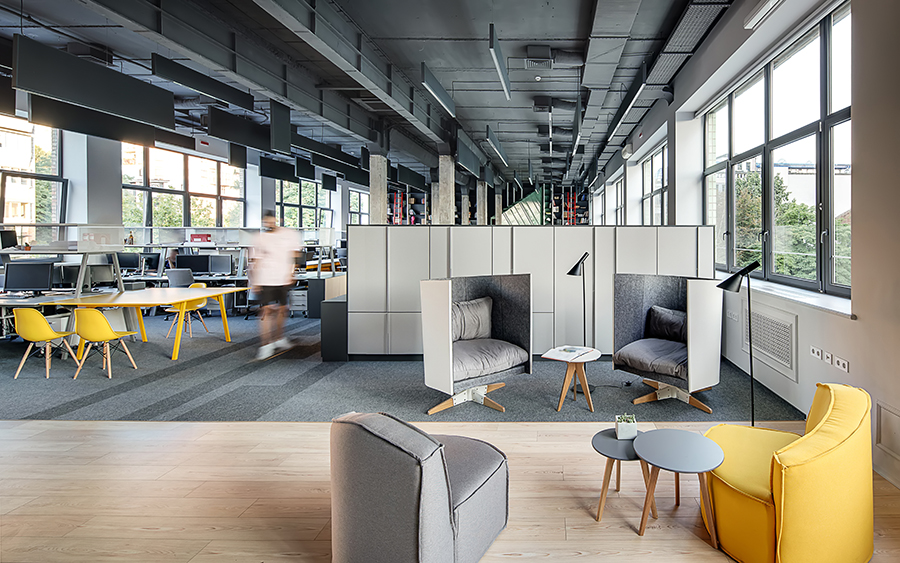 6 Design Trends for Commercial Interiors That Make Your Work Easier