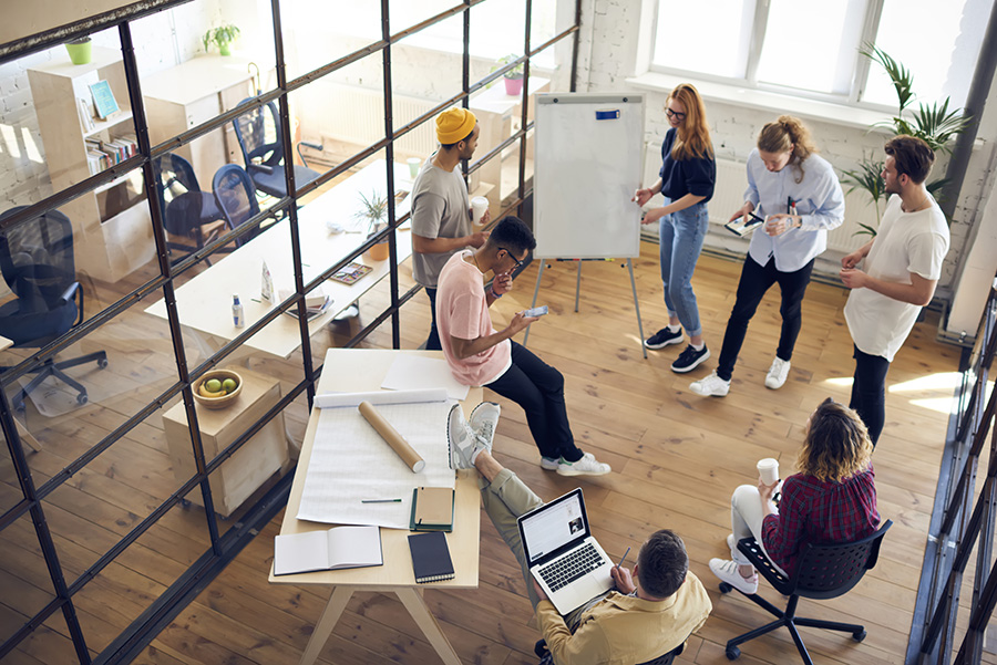 How Office Space Can Increase Work Productivity
